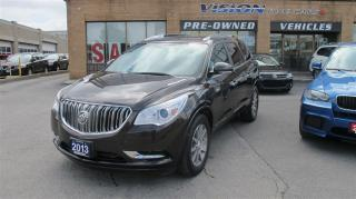 Used 2013 Buick Enclave AWD/NAVIGATION/BACK UP CAMERA/PANO SUNROOF for sale in North York, ON