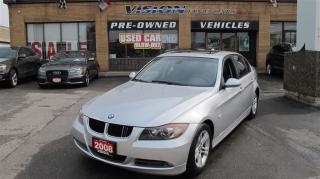 Used 2008 BMW 328 i/LEATHER HEATED SEATS/LOW KM for sale in North York, ON