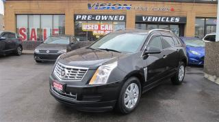 Used 2014 Cadillac SRX AWD/NAVIGATION/DRIVE ASSIST PKCG/PANO ROOF for sale in North York, ON