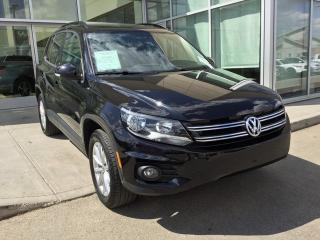 Used 2017 Volkswagen Tiguan WOLFSBURG EDITION/ALL WHEEL DRIVE/HEATED SEATS/BACK UP CAMERA for sale in Edmonton, AB