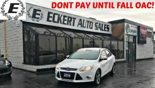 Used 2014 Ford Focus SE WITH BLUETOOTH for sale in Barrie, ON