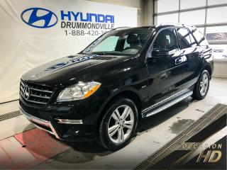 Used 2012 Mercedes-Benz ML 350 ML 350 BLUETEC + 4MATIC + GARANTIE + PRE for sale in Drummondville, QC