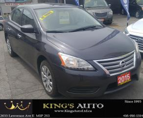 Used 2015 Nissan Sentra S, REMOTE START for sale in Scarborough, ON