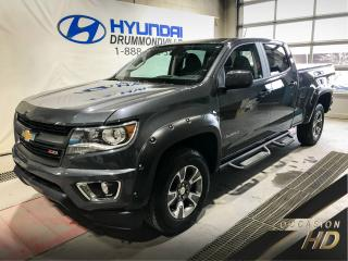 Used 2017 Chevrolet Colorado Z71 + ECRAN TACTILE + TOWING PACK + SIEG for sale in Drummondville, QC