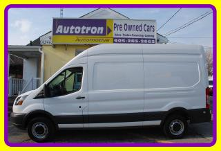 Used 2016 Ford Transit 3/4 Ton Cargo Van, High Roof, LOW KM, Fully loaded for sale in Woodbridge, ON