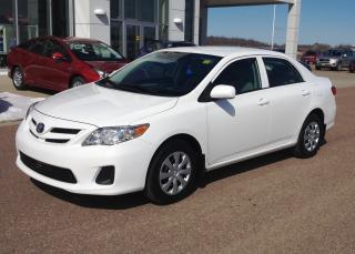 Used 2013 Toyota Corolla CE Enhanced Conv Pkg for sale in Renfrew, ON
