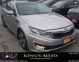 Used 2012 Kia Optima HYBRID LOADED!!! HEATED/COOLED SEAT for sale in Scarborough, ON