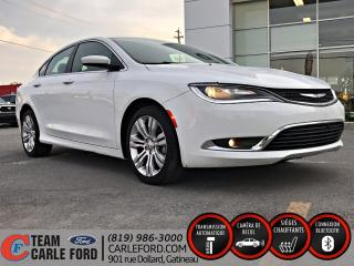 Used 2016 Chrysler 200 Chrysler 200 2016 Limited, Navigation for sale in Gatineau, QC