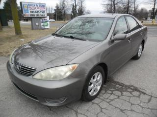 Used 2005 Toyota Camry **Clean NO ACCIDENTS, Certified+FREE 6M warranty** for sale in Ajax, ON