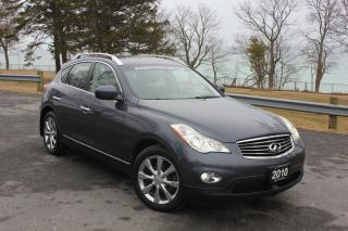 Used 2010 Infiniti EX35 LEATHER|ALLOYS|360 CAMERA|ROOF|POWER WINDOWS| for sale in Oshawa, ON