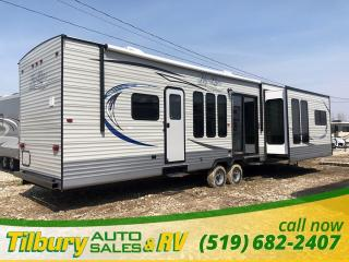 New 2019 HY-LINE HY42 IKEB PARK MODEL TRAVEL-TRAILER for sale in Tilbury, ON