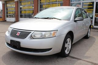 Used 2006 Saturn Ion Ion 1 LOW KMs/CRUISE for sale in Oakville, ON