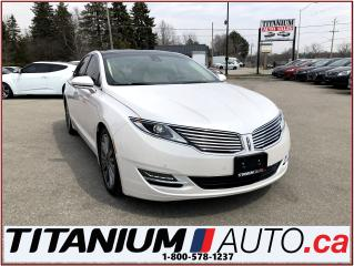 Used 2014 Lincoln MKZ AWD+GPS+Camera+Pano Roof+Vented Leather+Blind & La for sale in London, ON