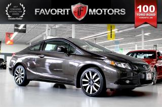 Used 2013 Honda Civic EX-L Coupe | NAV | BACK-UP CAM | SUNROOF for sale in North York, ON