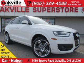 Used 2015 Audi Q3 TFSI Progressiv   LEATHER   HTD SEATS   PANO ROOF for sale in Oakville, ON