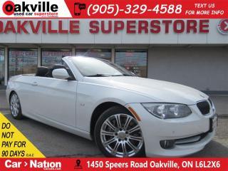 Used 2011 BMW 335i i Cabriolet | LEATHER | NAV | HTD SEATS | BT for sale in Oakville, ON