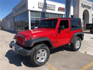 Used 2014 Jeep Wrangler Sport/Air/Alloys for sale in Burlington, ON