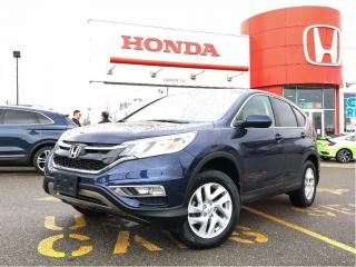 Used 2015 Honda CR-V EX-L, one owner, original raodsport vehicle for sale in Toronto, ON