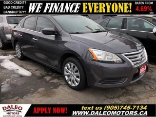 Used 2015 Nissan Sentra 1.8 SV  BACKUP CAM  BLUETOOTH  HEATED SEATS for sale in Hamilton, ON