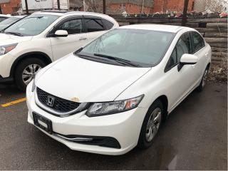 Used 2014 Honda Civic Sedan LX, priced for quick april sale for sale in Scarborough, ON