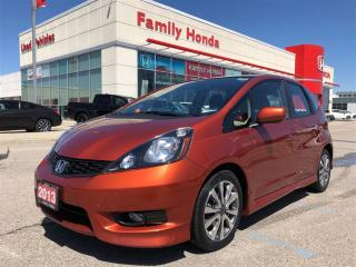 Used 2013 Honda Fit Sport (A5) for sale in Brampton, ON