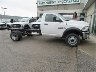 Used 2018 RAM 5500 Reg Cab 4x4 diesel cab & chassis 168.5 inch WB for sale in Richmond Hill, ON