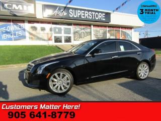 Used 2013 Cadillac ATS LUXURY  NAV ROOF BOSE CUE CAM HTD-S/W HS PARK-SENS 18