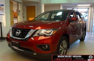Used 2018 Nissan Pathfinder SV Tech SV 4X4 |TECH|DEMO|GPS|BACK UP CAM| for sale in Scarborough, ON