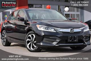 Used 2016 Honda Accord Sedan L4 LX CVT Clean Carproof|Rearview Camera|Blu for sale in Pickering, ON