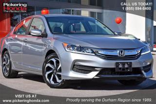 Used 2016 Honda Accord Sedan L4 LX CVT Clean Carproof|Bluetooth|Rearview for sale in Pickering, ON