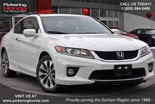 Used 2014 Honda Accord Coupe L4 EX-L Navi CVT Clean Carproof|Navigation|L for sale in Pickering, ON