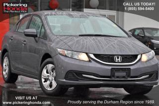 Used 2014 Honda Civic Sedan LX CVT for sale in Pickering, ON