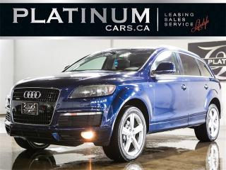 Used 2008 Audi Q7 3.6 QUATTRO, 7 PASSENGER, NAVI, PANO, Rear Enterta for sale in Toronto, ON