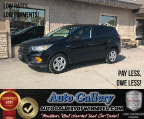 Used 2017 Ford Escape S *B.Cam for sale in Winnipeg, MB