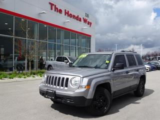 Used 2016 Jeep Patriot Sport 4X2 for sale in Abbotsford, BC