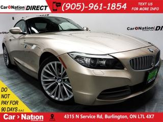 Used 2009 BMW Z4 sDrive35i| LEATHER| PUSH START| LOW KM'S| for sale in Burlington, ON