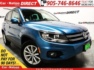 Used 2017 Volkswagen Tiguan Wolfsburg Edition| LEATHER| PUSH START| AWD| for sale in Burlington, ON