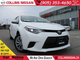 Used 2014 Toyota Corolla LE | BLUETOOTH | PWR GROUP | HTD SEATS | for sale in St Catharines, ON