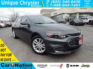 Used 2017 Chevrolet Malibu LT w/1LT|LOW KM ALERT!|BLUETOOTH|BACK UP CAM| for sale in Burlington, ON