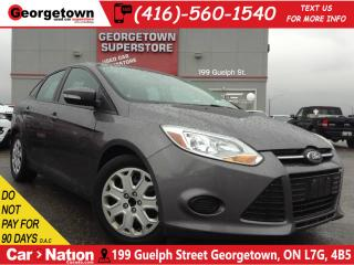 Used 2014 Ford Focus SE | HEATED SEATS | BLUETOOTH | for sale in Georgetown, ON