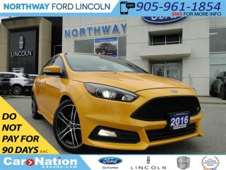 Used 2016 Ford Focus HEATED LEATHER | MOON ROOF | REAR CAM | for sale in Brantford, ON