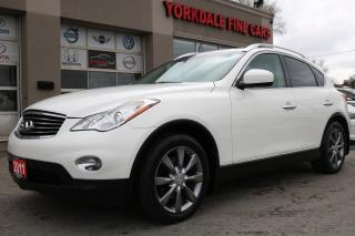 Used 2011 Infiniti EX35 Luxury Leather. Roof. Camera. Original for sale in North York, ON