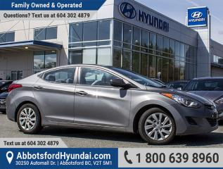 Used 2013 Hyundai Elantra GL BC OWNED & ACCIDENT FREE for sale in Abbotsford, BC