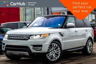Used 2017 Land Rover Range Rover Sport Td6 HSE AWD|Drive,Premium Pkgs|Meridian Audio for sale in Thornhill, ON