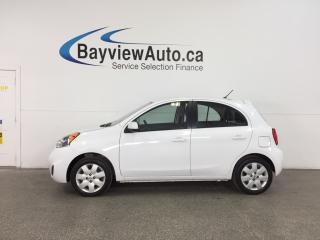 Used 2015 Nissan Micra SV - 5 SPEED! 1.6L! A/C! REV CAM! BLUETOOTH! CRUISE! for sale in Belleville, ON