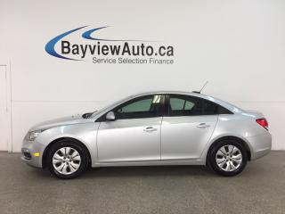 Used 2016 Chevrolet Cruze - TURBO! 6 SPEED! A/C! MY LINK! REV CAM! CRUISE! for sale in Belleville, ON