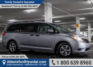 Used 2016 Toyota Sienna 7 Passenger BC OWNED for sale in Abbotsford, BC