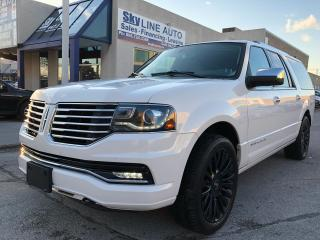 Used 2016 Lincoln Navigator L Select NAVICAM POWER RUNNING BOARDS SUNROOF for sale in Concord, ON