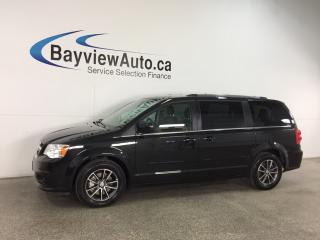 Used 2017 Dodge Grand Caravan CVP/SXT - ALLOYS! ECO MODE! 3 ZONE CLIMATE! NAV! PWR DOORS! for sale in Belleville, ON