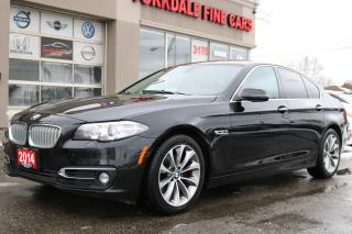 Used 2014 BMW 528 i xDrive Executive Pkg. Navigation. 360 Camera. Original Car for sale in North York, ON